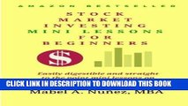 Collection Book Stock Market  Investing  Mini-Lessons  For Beginners: A starter guide for beginner