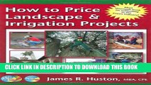 Collection Book How to Price Landscape   Irrigation Projects (Greenback Series)