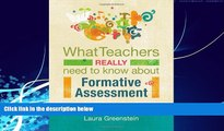 Big Deals  What Teachers Really Need to Know About Formative Assessment  Best Seller Books Best