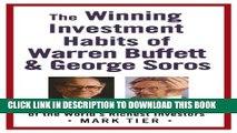 [PDF] The Winning Investment Habits of Warren Buffett   George Soros Popular Online