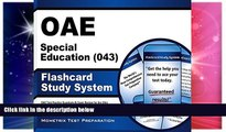 Big Deals  OAE Special Education (043) Flashcard Study System: OAE Test Practice Questions   Exam