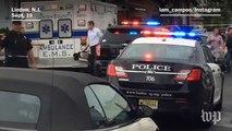 Social video captures New York bombing suspect's arrest