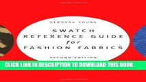 Collection Book Swatch Reference Guide for Fashion Fabrics