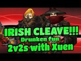 "Evylyn - Drunken 2s /w Xuen! ""Thats how we run irish cleave y'all!"" wow mop 5.4.7 warrior monk pvp"