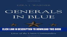 [PDF] Generals in Blue: Lives of the Union Commanders Full Online