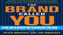 New Book The Brand Called You: Make Your Business Stand Out in a Crowded Marketplace