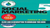 [PDF] Social Marketing: Changing Behaviors for Good Full Collection