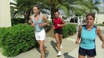 Young Maria Sharapova on Trans World Sport