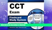 GET PDF  CCT Exam Flashcard Study System: CCT Test Practice Questions   Review for the Certified