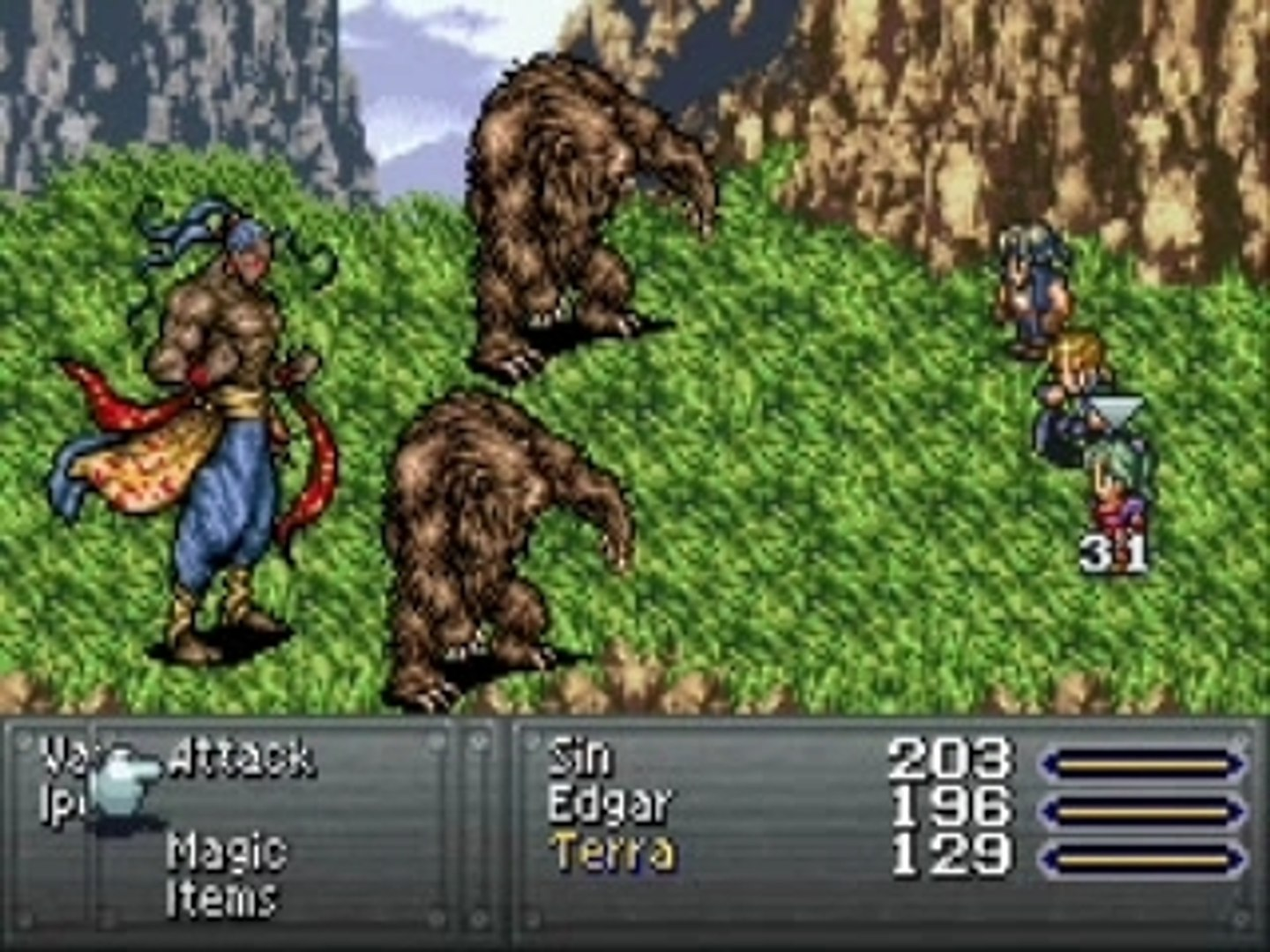 FF6  boss collection