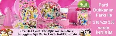 Prenses Parti Süsleri | Prenses Doğum Günü Partisi |Doğum Günü Süsleri Parti Dükkanım