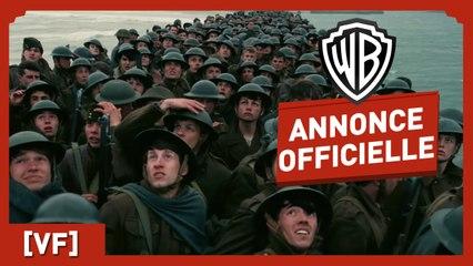 Dunkerque - Annonce Officielle - Christopher Nolan