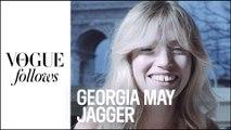 Georgia May Jagger nous ouvre son sac de Fashion Week | #VogueFollows | VOGUE PARIS