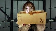 [Miniyu Korean ASMR] Miniyu ASMR 3rd Anniversary│Talk │Eating chicken [미니유 한국어 ASMR] 3주년기념│이야기하기│치킨잠깐먹기