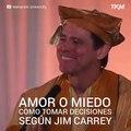 Jim Carrey. Gran discurso del actor Jim Carrey.