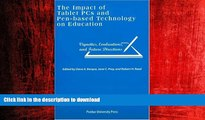 READ THE NEW BOOK Impact of Tablet PCs and Pen-based Technology on Education: Vignettes,
