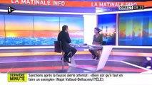"""Najat Vallaud-Belkacem tacle violemment Nicolas Sarkozy """"Faut-il faire un cours d'histoire à Monsieur Sarkozy ?"""" - Regar"""