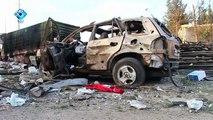 Siria: è strage dopo bombardamento contro convoglio umanitario. Sospetti su Mosca