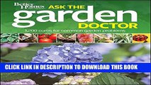 [PDF] Better Homes and Gardens Ask the Garden Doctor (Better Homes and Gardens Gardening) Popular