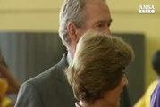 George H.W. Bush votera' per Clinton