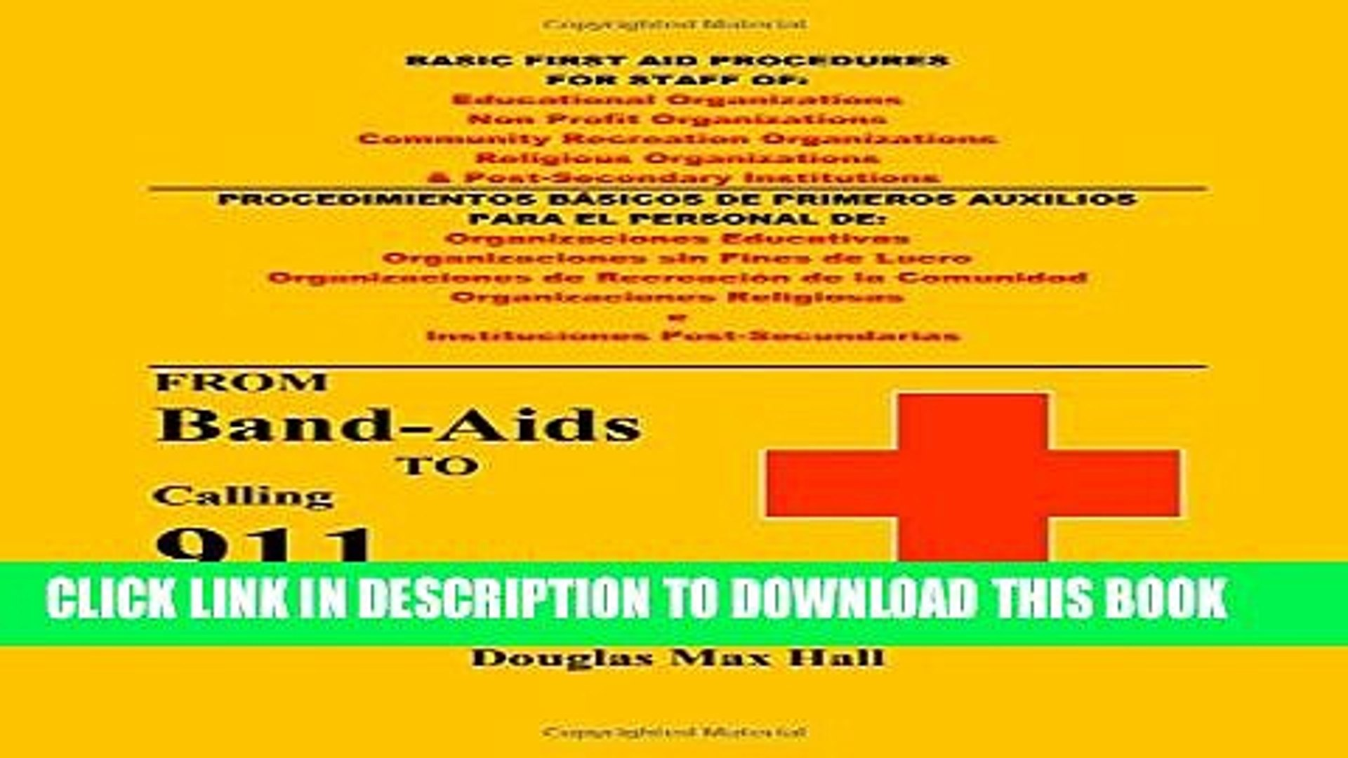 [PDF] Basic First Aid Procedures for Staff of Non Profit Organizations Full Online