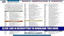 Collection Book Medical Abbreviations and Acronyms - REA s