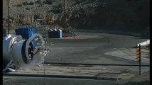 Une explosion filmée au ralenti par la NASA
