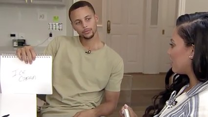 Steph Curry & Ayesha Curry Play The Newlywed Game