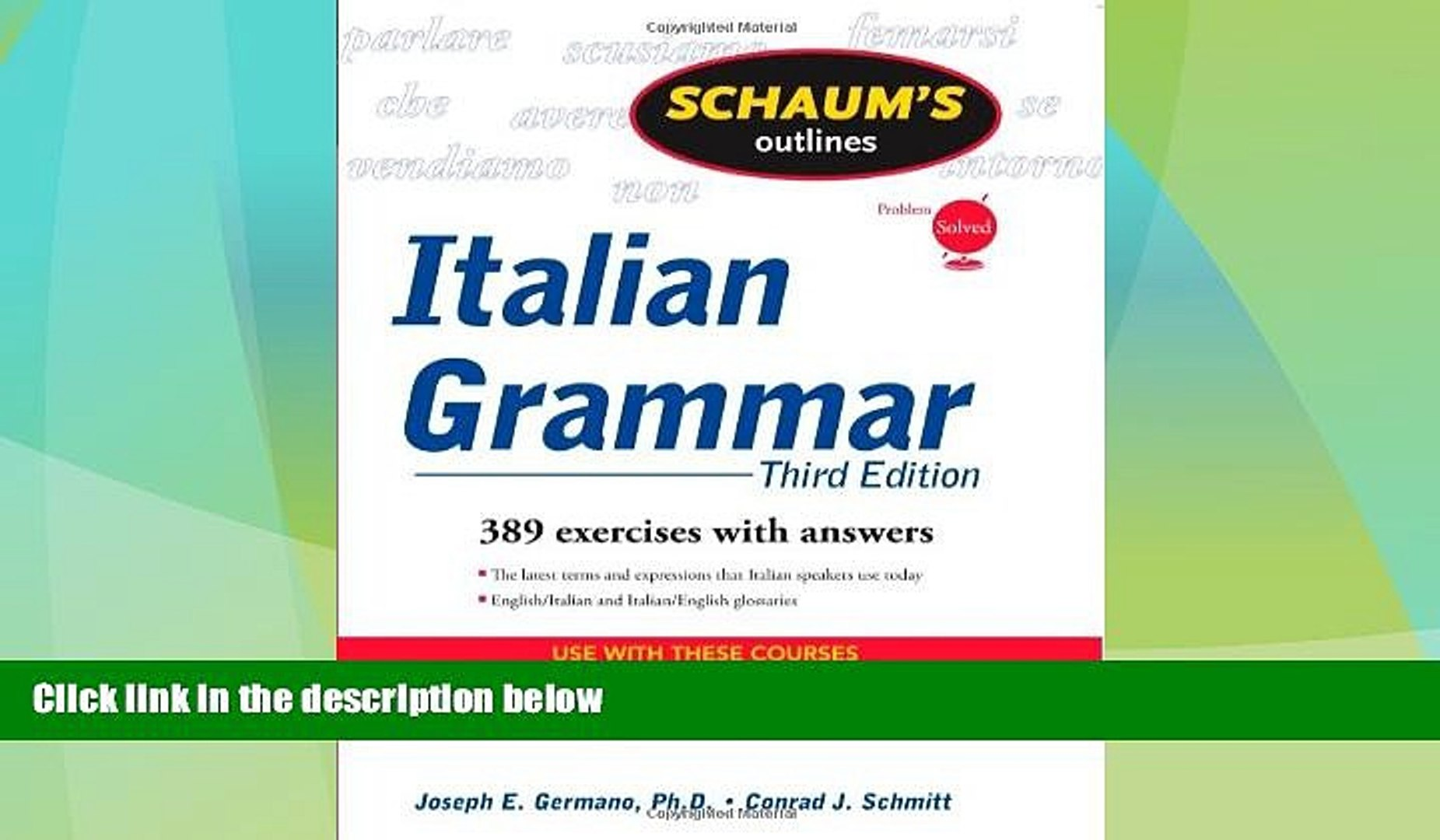 Third Edition Schaums Outline of Russian Grammar