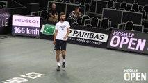 Interview de Pré-Match de Benoît Paire