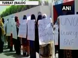 Baloch National Front protests against Pakistan army and ISI for harassing Baloch activists