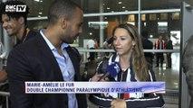 Jeux paralympiques - Marie-Amélie Lefur, double championne d'athlétisme fait le bilan des Jeux
