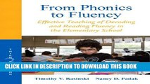 New Book From Phonics to Fluency: Effective Teaching of Decoding and Reading Fluency in the