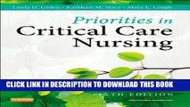 [PDF] Priorities in Critical Care Nursing, 6e (Urden, Priorities in Critical Care Nursing) Full