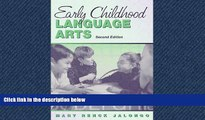 Enjoyed Read Early Childhood Language Arts: Meeting Diverse Literacy Needs Through Collaboration