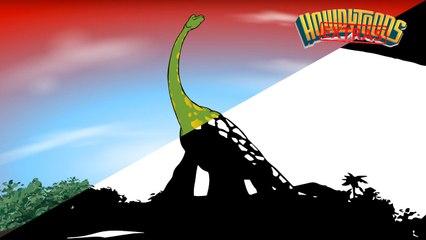 The making of Brachiosaurus - Dinosaur Songs from Dinostory by Howdytoons