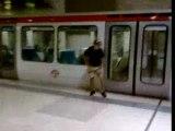 Foot-Metro Gerland