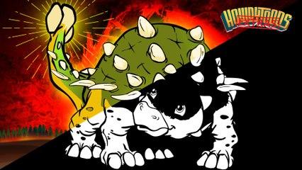 "The Making of ""Ankylosaurus"" Dinosaur Songs from Dinostory by Howdytoons"
