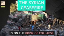 Syrian ceasefire on brink of collapse