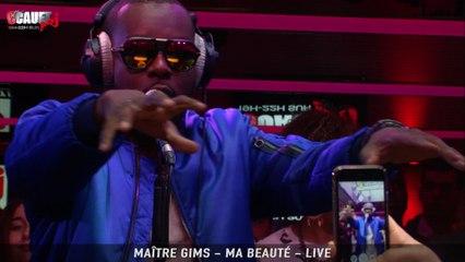 Maître Gims - Ma beauté - Live - C'Cauet sur NRJ