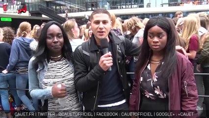 Deux fans rencontrent Shawn Mendes à Amsterdam
