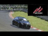 Assetto Corsa | AC Challenge Ring Rank Entry | Alfa Romeo MiTo QV