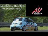 Assetto Corsa | AC Challenge Ring Rank | Abarth 500 Assetto Corse 2nd Attempt