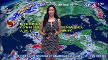 Susana Almeida Pronostico del Tiempo 20 de Septiembre de 2016