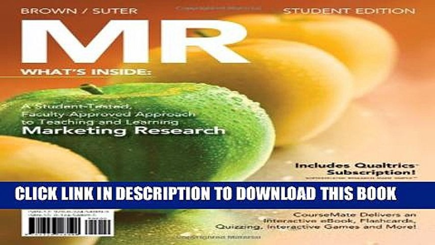 [PDF] MR (with Marketing CourseMate with eBook Printed Access Card) Full Online