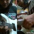 Canon rock double guitar