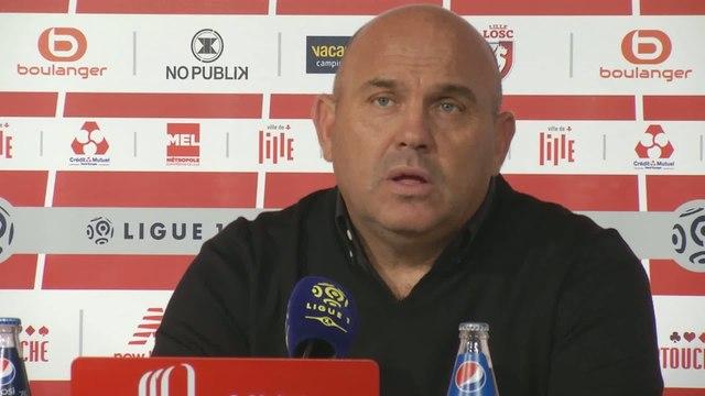 Foot - L1 - LOSC : Antonetti «C'est trop facile de nous marquer un but»