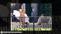 Kim Kardashian Flaunts her Ample Assets in Thong Bikini in Miami