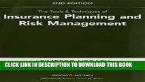 [PDF] The Tools   Techniques of Insurance Planning and Risk Management, 2nd Edition Popular