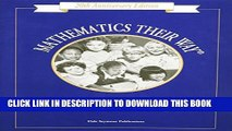 [PDF] Mathematics Their Way: An Activity-Centered Mathematics Program for Early Childhood
